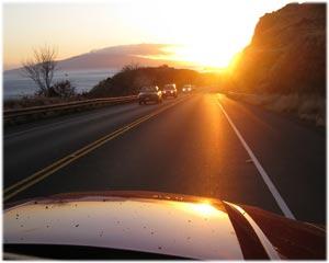 Лучик солнца в машине