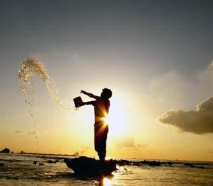 Кусочек моря, неба, солнца