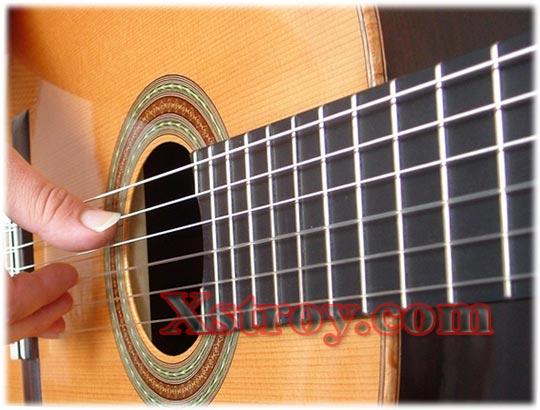 Новая песня на гитаре