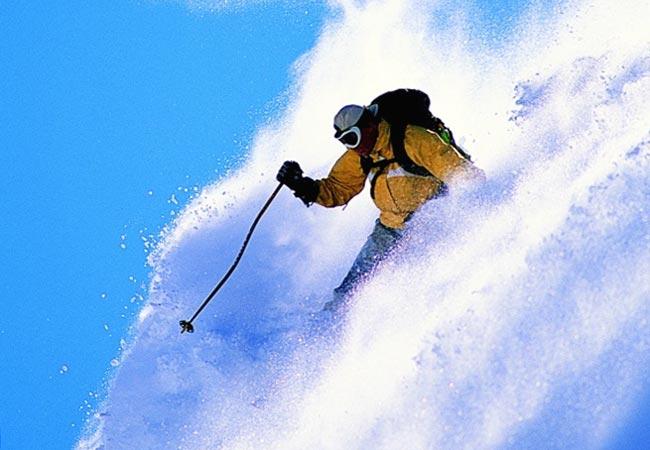 Скорость и снег в лицо